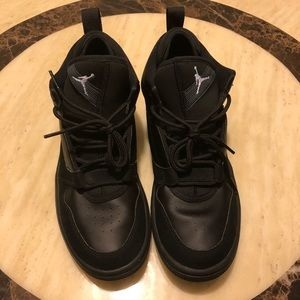 Jordan 23 All Black Sneakers Size 7/7.5/8